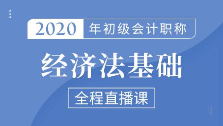 2020年初级经济法精讲班第十四讲