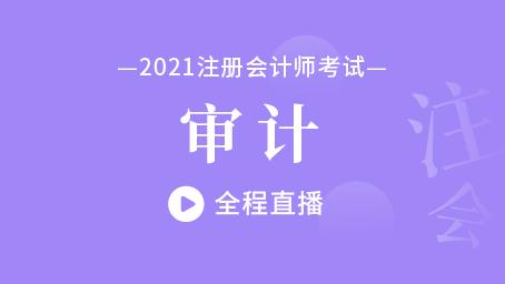 2021年注会审计习题强化班第十一讲